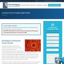 Platelet Rich Plasma Injection and PRP Treatment for Knee in IA