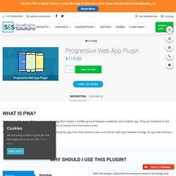 Progressive Web App Plugin – SocialEngineSolutions