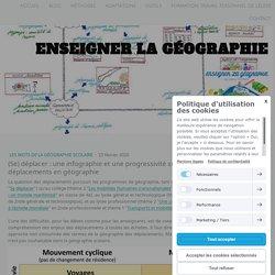 (Se) déplacer : une infographie et une progressivité sur le vocabulaire des déplacements en géographie - Site de enseigner-la-geographie !