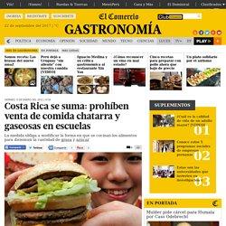 Costa Rica se suma: prohíben venta de comida chatarra y gaseosas en escuelas