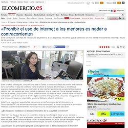 «Prohibir el uso de internet a los menores es nadar a contracorriente». El Comercio