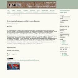 Revista e-scrita: Revista do Curso de Letras da UNIABEU
