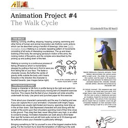 Project #4 Walk Cycle
