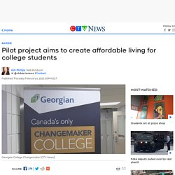 Pilot project aims to create affordable living for college students