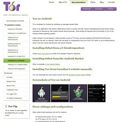 Tor on Android