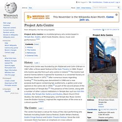 Project Arts Centre - Wikipedia