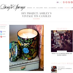ashley's vintage tin candles