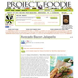 Avocado Bacon Jalapeño