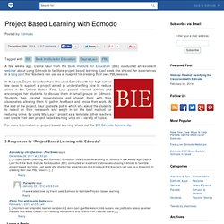Project Based Learning with Edmodo