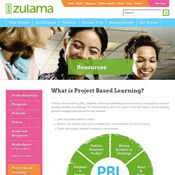 Project Based Learning - Zulama
