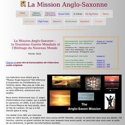 The Anglo-Saxon Mission