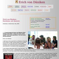 Erich von Däniken