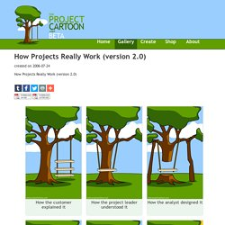 Project Cartoon: How Projects Really Work (version 2.0)