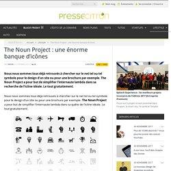 The Noun Project : des centaines d'icônes gratuites
