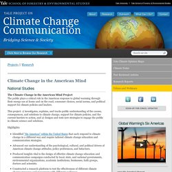 Yale Project on Climate Change
