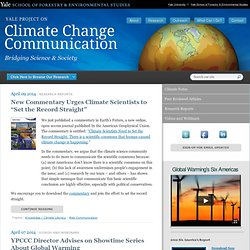 Project on Climate Change Communication