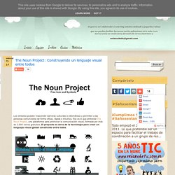 The Noun Project: Construyendo un lenguaje visual entre todos