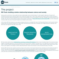 Project description - RRI Tools