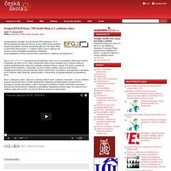 Project.EFG1914.eu: 700hodin filmů o1.světové válce