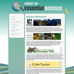 Natural Resource Core Animal Id
