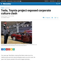 Tesla, Toyota project exposed corporate culture clash