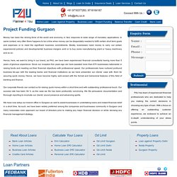 Project Funding Gurgaon - P4u.co.in