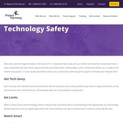 Project Harmony - Technology Safety