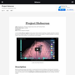 Project Holocron on Behance