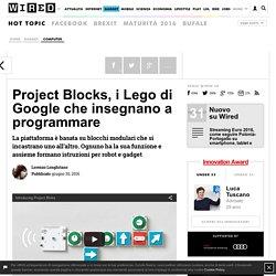 Project Blocks, i Lego di Google che insegnano a programmare