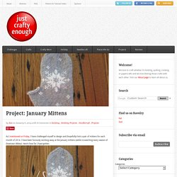 Project: January Mittens