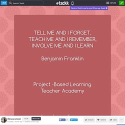 Project -Based Learning Teacher Academyhere's my diary.......