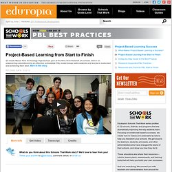 Project-Based Learning from Start to Finish