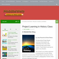 Project Based Learning in History and Social Studies