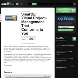 SmartQ: Visual Project-Management That Conforms to You