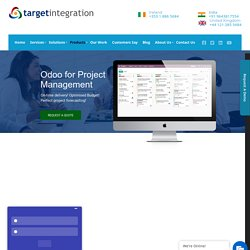 Odoo Project Management - Target Integration
