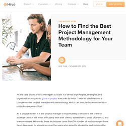 How to Find the Best Project Management Methodology for Your Team
