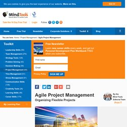 Agile Project Management - Project Management Tools From MindTools.com