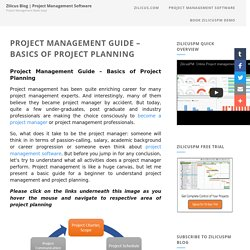 Project Management Guide - Basics of Project Planning