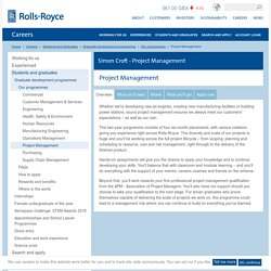 Project Management – Rolls-Royce
