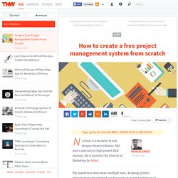 Create A Free Project Management System From Scratch