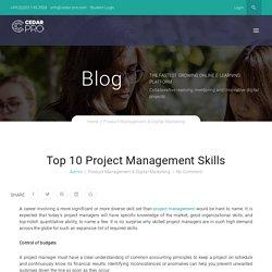 Top 10 Project Management Skills - Cedar Pro