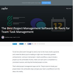 The Best Project Management Software: 50 Tools for Team Task Management