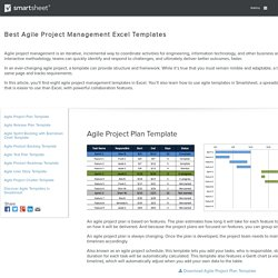 Free Agile Project Management Templates in Excel