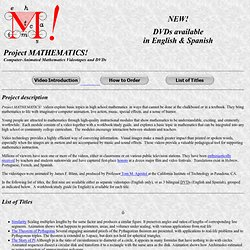 Project MATHEMATICS!
