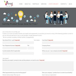 Project Planner - Vibrant Info