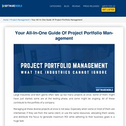 Your All-In-One Guide Of Project Portfolio Management