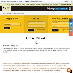 Project Reports & Profiles » Alcohol Projects