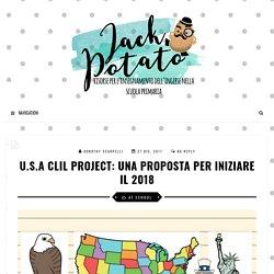 U.S.A CLIL Project: una proposta per iniziare il 2018 - Jack Potato