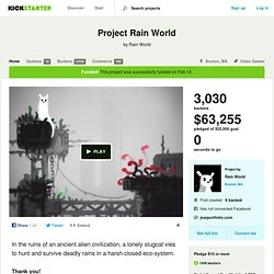 Project Rain World by Rain World