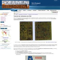 Réaliser un circuit imprimé